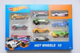 Машинка HOT Wheels 10штук Металл Пластик набор
