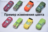 Машинка Хамелеон для трека Хот Вилс Hot Wheels, меняет цвет в теплой воде